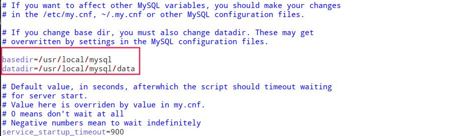 配置系统服务文件